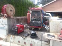 Trailer cross member repair or welding